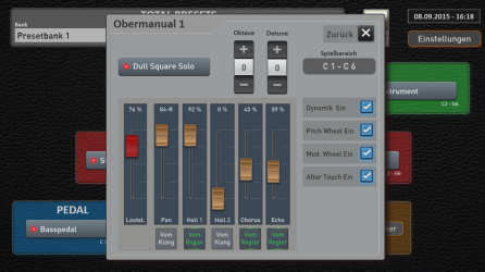Easy Mode: effects mixer - Ocatve shift and detune for each slected instrument